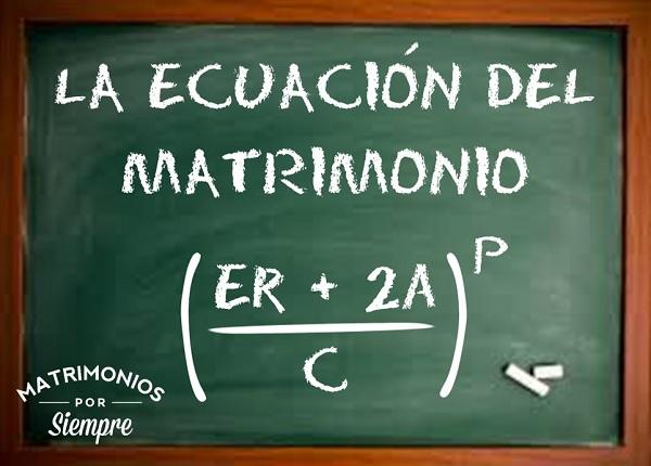 La Ecuación del Matrimonio