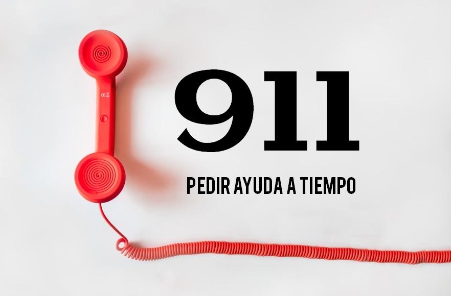911. Pedir ayuda a tiempo